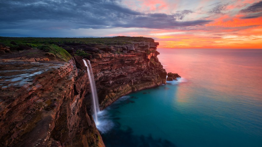 Curracurrong-Falls-Sunrise_Daniel-Tran-1